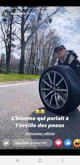 Loïc Nottet crève un pneu sur autoroute: son ami Henri PFR et des  camionneurs lui viennent en aide