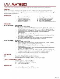 Resume Marketing Objective One Page Cv Template Word Zion Creative