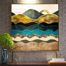 creative modern art wall paintings