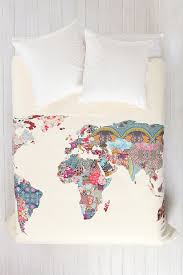 gaby saucedo saucedo saucedo headley patchwork world map duvet cover i think this is