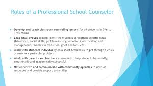 downtown professional school counseling program how does this 3 roles