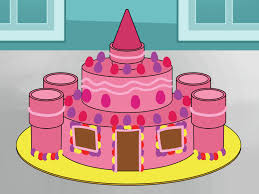 How To Make A Castle Cake 15 Steps With Pictures Wikihow