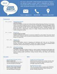 Charming Modern Resume Examples 7 Example And Templates Free