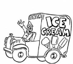 ice cream truck coloring pages.  Pages Ice Cream Truck Coloring Pages On T