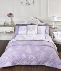 catherine lansfield vintage postcard duvet cover set 2 colour for brilliant household lilac duvet cover remodel