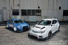 2008 Mitsubishi Lancer Evolution X & 2008 Subaru Impreza WRX STi ...