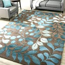 brown and gray area rugs turquoise rug entry teal cream throw 10x14 hand woven blac