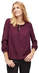 Langarm-Blusen von TOM TAILOR für Frauen günstig online kaufen bei ...