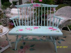 Hand Painted Benches