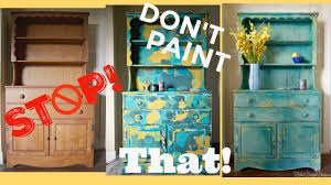 blue antique furniture. Four Color Paint Layering, Blending \u0026 A Story About Ruining Antique Furniture? - YouTube Blue Furniture