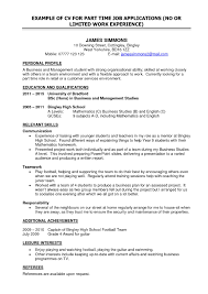 Resume For Part Time Job Canada Best Of General Job Resume General