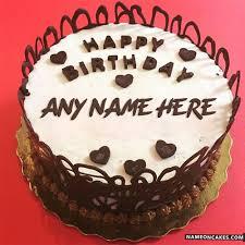 happy birthday chocolate cake with name. Wonderful Birthday In Happy Birthday Chocolate Cake With Name