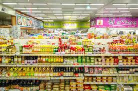 Kệ bày hàng siêu thị