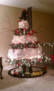 Very creative Christmas Snowman Tree.