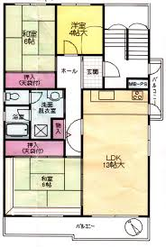 Japan house plans Attractive Two Floor Plans Illustrate How Danchi Apartment above Is Designed To Have Its Csrsnpsorg Danchi Housing Lets You Think Outside The Usual Box The Japan Times