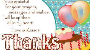 Thank You All For Wishing Me Thank You Fb Friends For The Birthday Wishes And Greetings