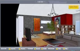 Visualisation En 3d Projet Decoration Salon à Partir Logiciel Du0027architecture  En Ligne Gratuit