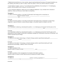 Effective Resume Objective Statements How To Write An Effective Resume Sample Template Examples Download 6