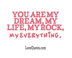 Dream Love Quotes Best Of You Are My Dream Love Quotes