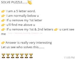I am a 5 letter word