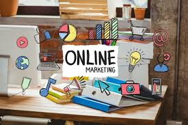 design an office online. Desk Office With Online Marketing Business Concept Free Photo Design An