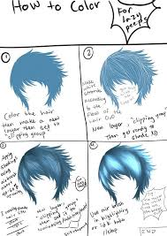 the lazy tutorial hair coloring by bishiesan