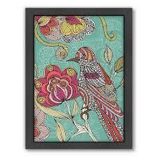 Americanflat ''Beatriz'' Bird Framed Wall Art
