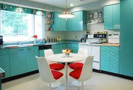 Red And Yellow Kitchen Red And Turquoise Kitchen 26 Kitchen Turquoise Dark Walls With