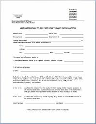 release of medical information template authorization to release medical records form sample rome