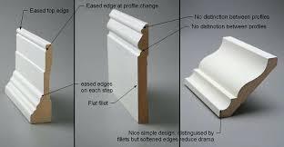 chair rail molding profiles home design ideas