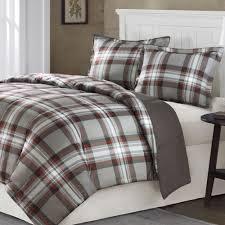 grey plaid comforter. Unique Comforter Grey Plaid Bedding  Home Kirkland Plaid Mini Comforter Set Gray Inside Grey