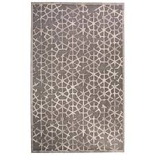 decoration geometric gray white area rug cobalt blue and rugs