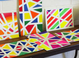 Painting Canvas For Living Room Furniture Abstract Canvas Paintings Ideas With Colot Ful And
