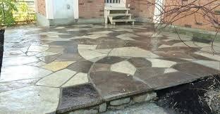 how to make a flagstone patio flagstone patios and also small flagstones and also how to lay slate flagstone patio cost uk