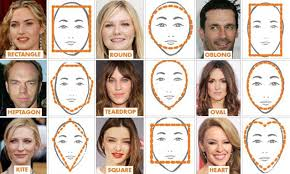 Scientists have identified NINE distinct face <b>shapes</b> five new groups ...