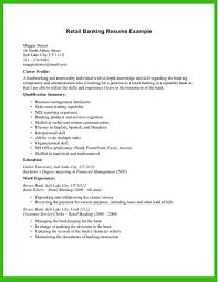 Banking Resume Investment Banking Resume Sample Personal Banker