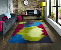 colorful rugs. Oriental Rugs, Modern And Traditional India, China Europe, Which Have A Distinctive Style. Colored Carpets With Motifs Contemporary Colorful Rugs E