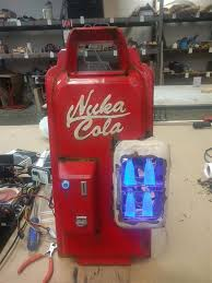 Nuka Cola Vending Machine Stunning 48dersorg Best Fallout 48D Print Yet Maker Builds Epic 48D Printed