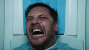 venom official trailer tom hardy finally shows us his eye popping transformation