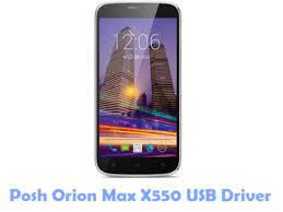 Download Posh Orion Max X550 USB Driver ...