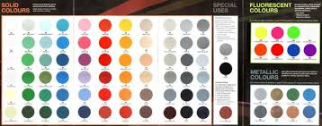 Bosny Spray Paint Color Chart Bosny Spray Paint Msds Pngline