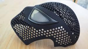 spider man face shell magnetic eye frames assembling 3d printed mask you