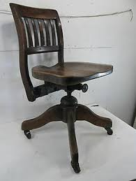vintage office chairs for sale. Vintage Adjustable Wooden Office Chair - Antique Chairs For Sale Q