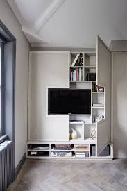 High style, low-budget in this 750 square foot English flat. Built In FurnitureTiny  House ...