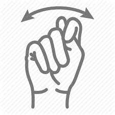 Asl Bathroom Deaf Hand Language Sign Icon Download On Iconfinder