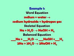 17 word equation skeletal