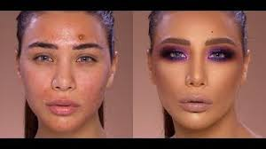 how to correct acne skin problems tutorial by samer khouzami