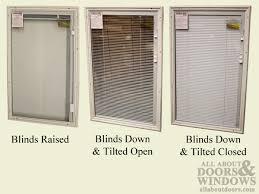 therma tru 22 x 36 x 1 surround with internal venetian blinds door lite