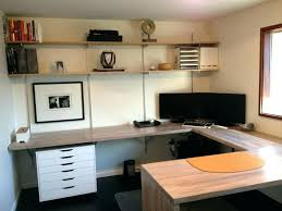 office floating desk small. Floating Office Desk Small Modern Home Design With Butcher Block Computer