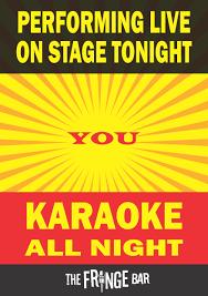 karaoke all night